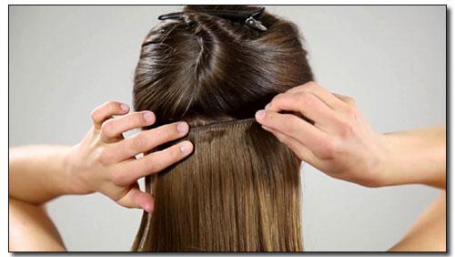 Zagęszczanie włosów metodą Clip In